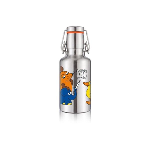 0,5L Soulbottle Edelstahlflasche Trinkflasche - Die Maus & Freunde