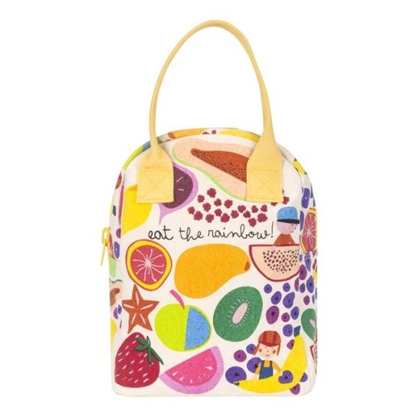 Zipper Lunch Bag - ideal fürs Pausenbrot