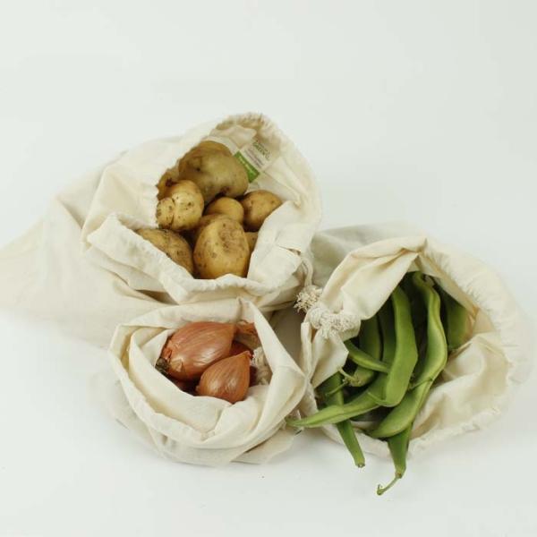 3er-Set Lebensmittel Aufbewahrungsbeutel für Gemüse