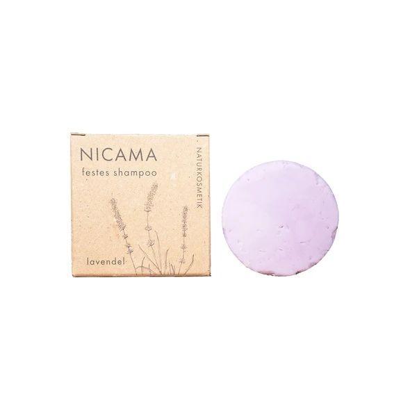 Festes Shampoo Lavendel Naturkosmetik 50 Gramm