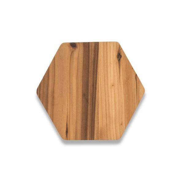 Kleines Servierbrett aus recycelten Zedernholz