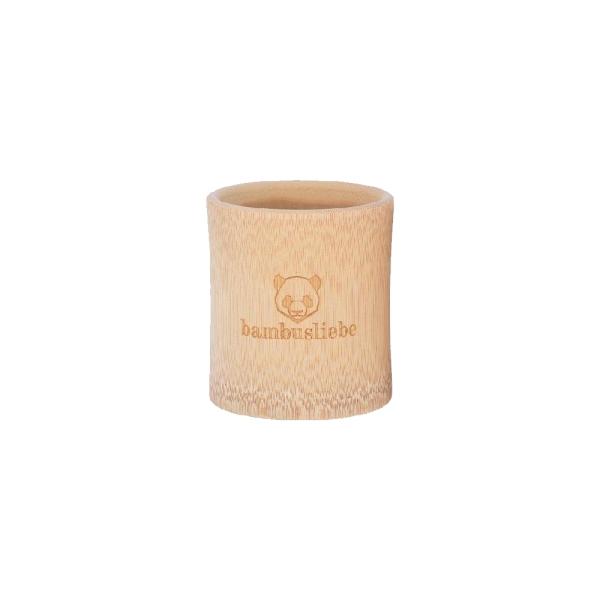 Bambusliebe Bambus Zahnputzbecher 100% Naturprodukt