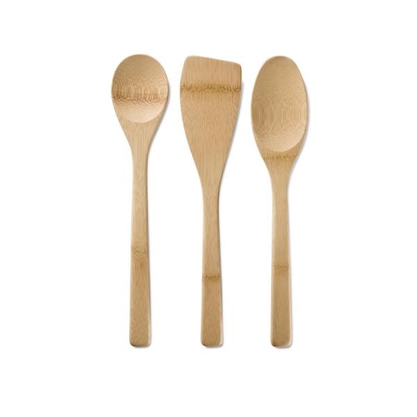 Bambus Küchenset Basic (30,5cm) 3 teilig