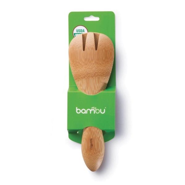 Bambus Salatbesteck (ca 20 cm) verpackt