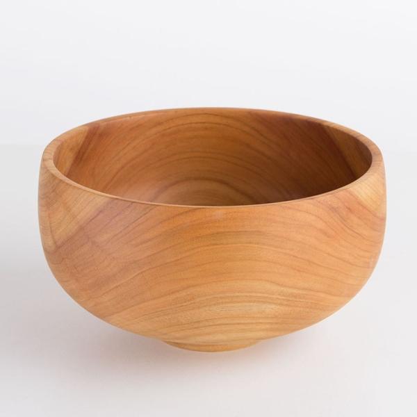 Holzschale aus Kirschbaumholz handgefertigtes Unikat
