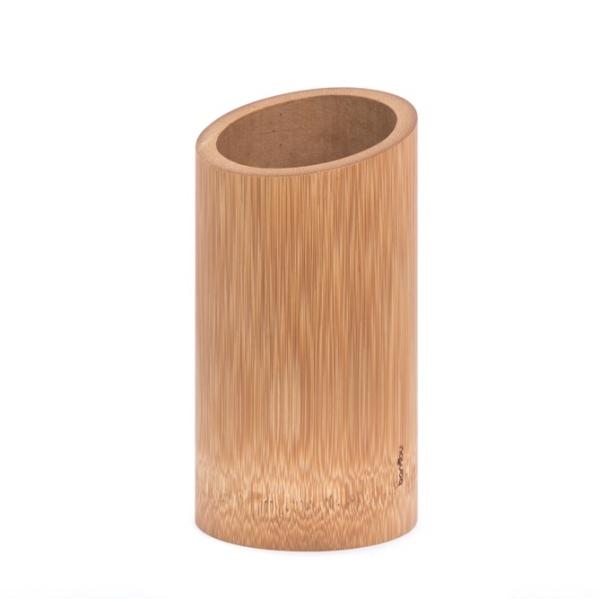 Bambus Küchenutensilienhalter (ca. 16cm, Ø 9cm)