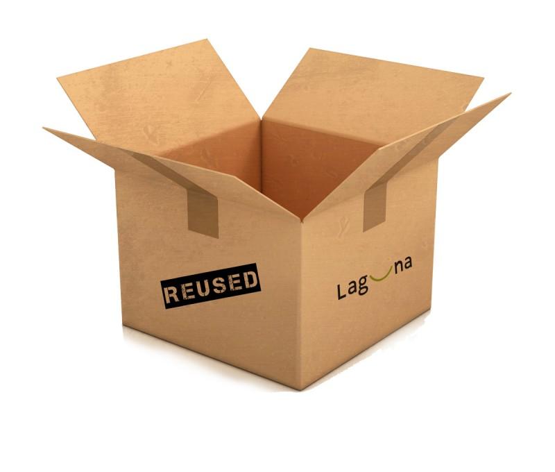 Wiederverwendung von Versandkartons & Recycelte Pappkartons