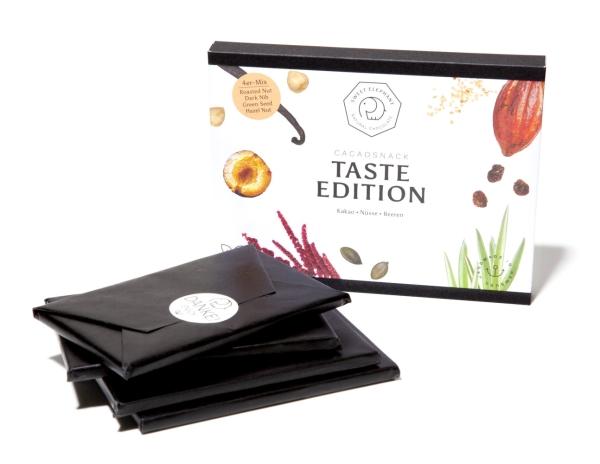 Vegane Schokolade - 4er Probier Paket