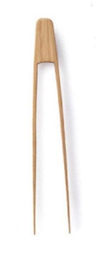 Bambus Zange für die Küche klein ca. 16,5 cm
