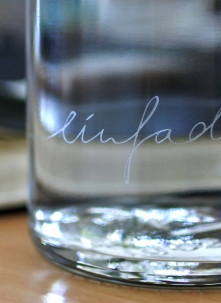 0,6L Soulbottle Trinkflasche - Einfach nur Wasser