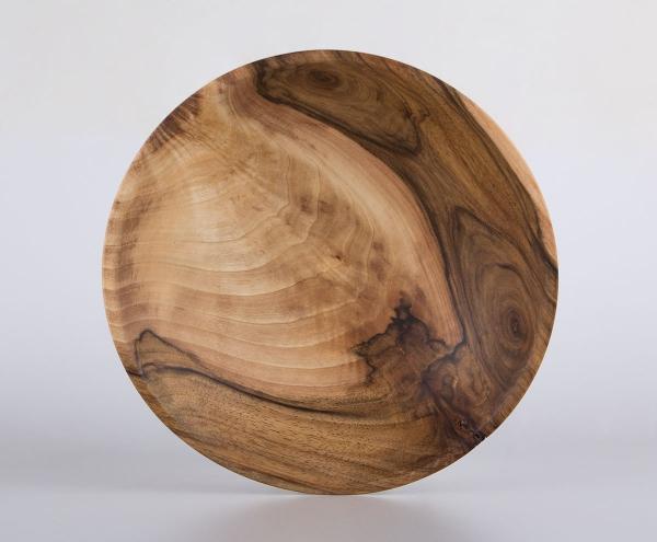 Nussbaum Holzschale - Unikat - groß