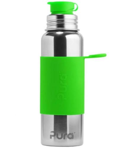 Pura Sportflasche (800 ml) Farbe Grün