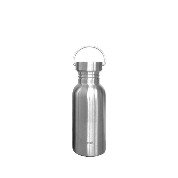 Plastikfreie Edelstahlflasche 0,5L von Qwetch