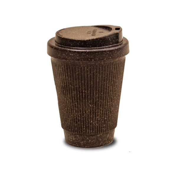 Kaffeebecher für unterwegs - Coffee 2 Go aus Kaffeesatz