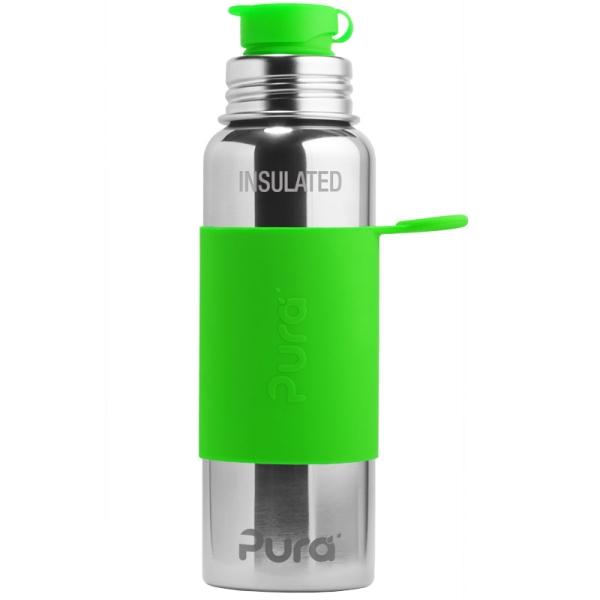 Pura Sportflasche isoliert 600ml mit Sleeve