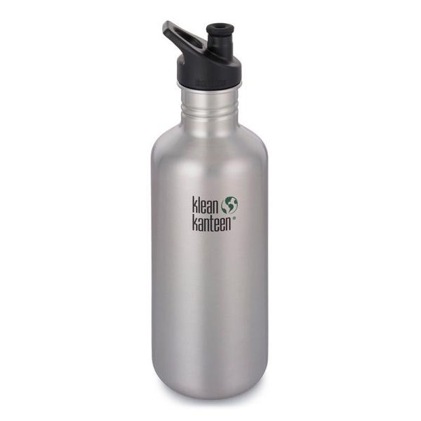 Klean Kanteen - Trinkflasche Classic einwandig mit Sport Cap (1182ml)