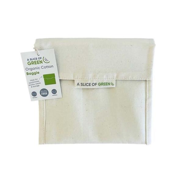 Baumwoll-Täschchen für Sandwiches ideal, waschbar