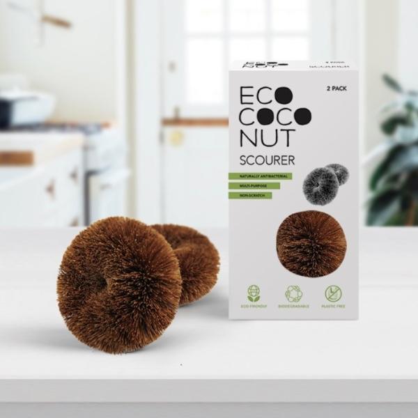 Ecococonut - Plastikfreie Donut Bürsten aus Kokos