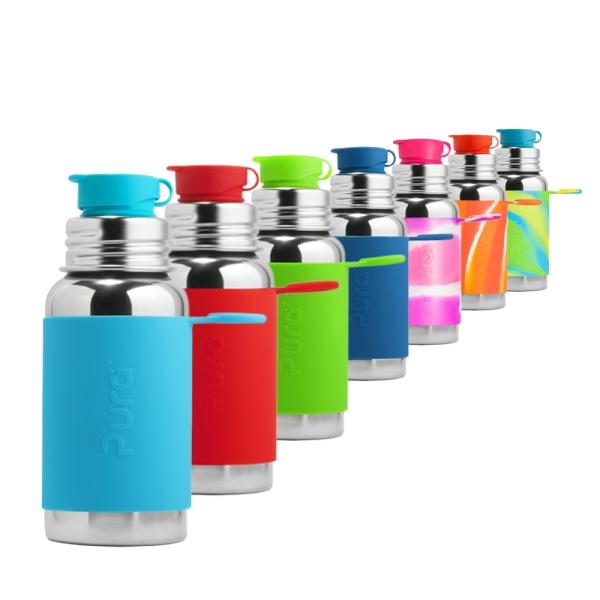 Pura Sportflasche 500ml - Übersicht Farben