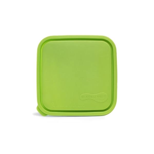 Ersatzdeckel für große quadratische U-Konserve Dosen Lime
