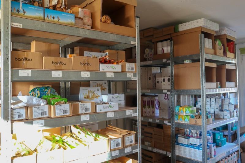 Lager Laguna-Onlineshop Bambus Produkte