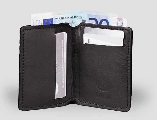 Leder Portemonnaie Bill-Dyz von Kancha