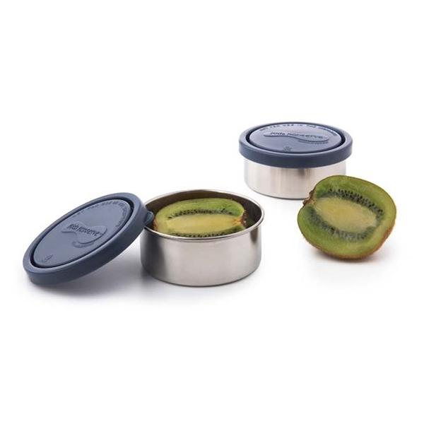auslaufsichere, runde Frischhaltedosen 2er Set