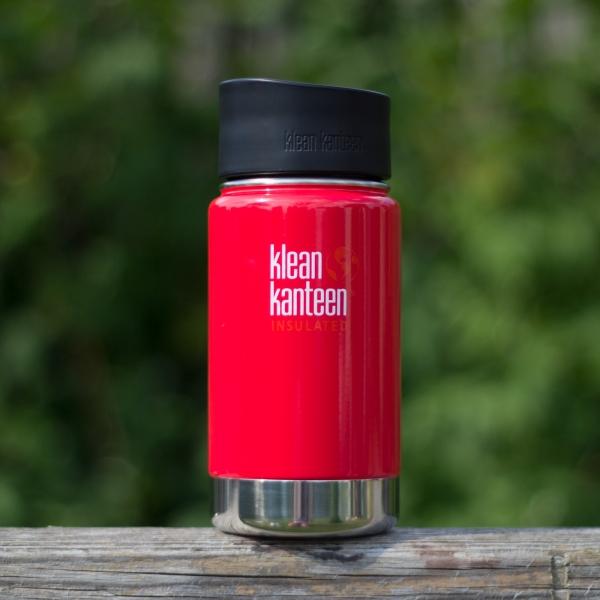 Isolierter und auslaufsicherer Kaffeebecher 355ml - Mineral Red