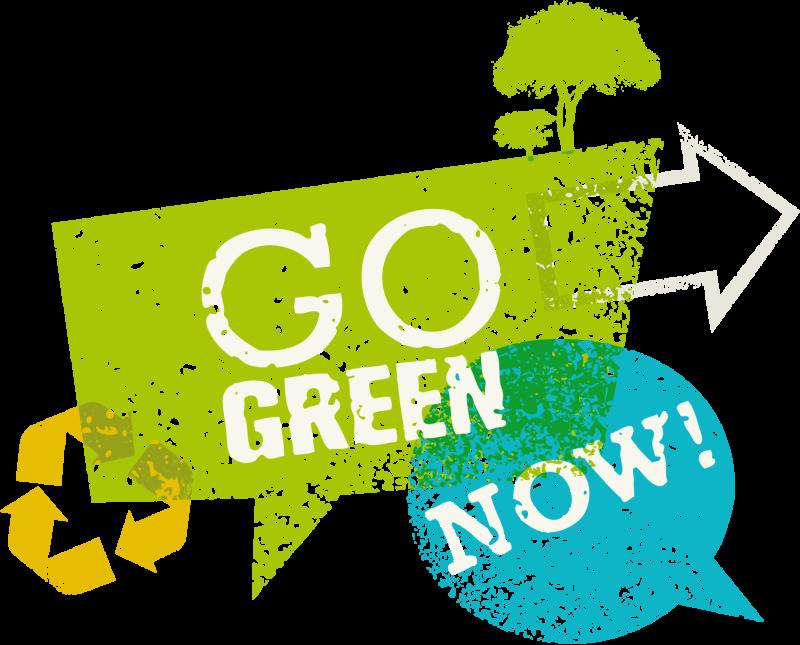 Go Green, Jetzt!