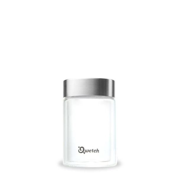 Qwetch - Isolierter Glasbecher - Espressobecher - 160ml