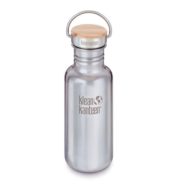 Edelstahl Trinkflasche Klean Kanteen Reflect (800ml) - glänzend