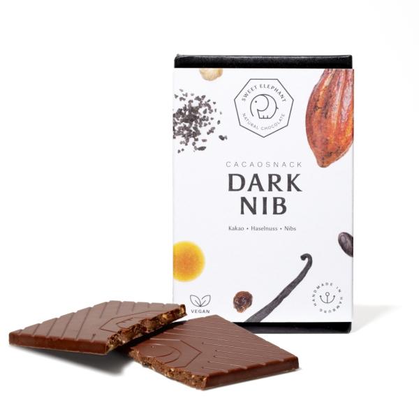 Sweet Elephant - Vegane Schokolade - Dark Nib