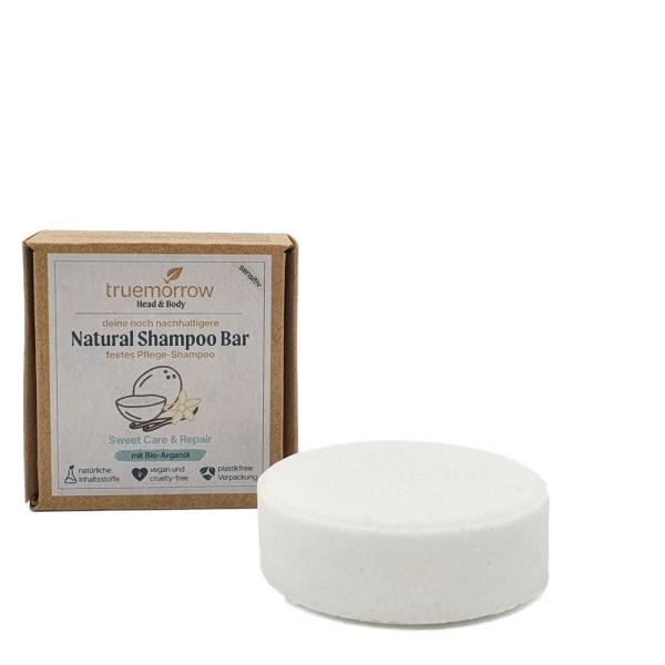 Feste Seife für die Haare - 100% natürlich, vegan, Deutsches Qualitätsprodukt