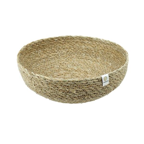reSpiin - Natürliche Deko Nistschale aus Seegras - Groß