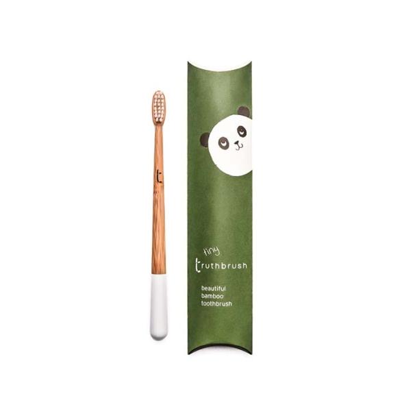 truthbrush – Bambus Zahnbürste mit Rizinusöl-Borsten für Kinder