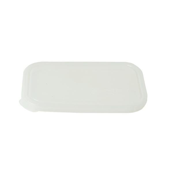Deckel für rechteckige Dose - transparent
