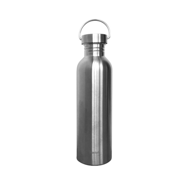 Plastikfreie Edelstahlflasche 1L von Qwetch