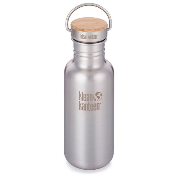 Reflect Trinkflasche isoliert mit Bambus Cap 592ml