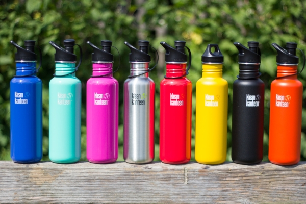 Klean Kanteen Edelstahl Trinkflasche Classic- Farben