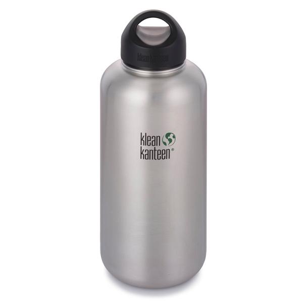 Edelstahl Trinkflasche Wide 1900ml mit Loop Cap