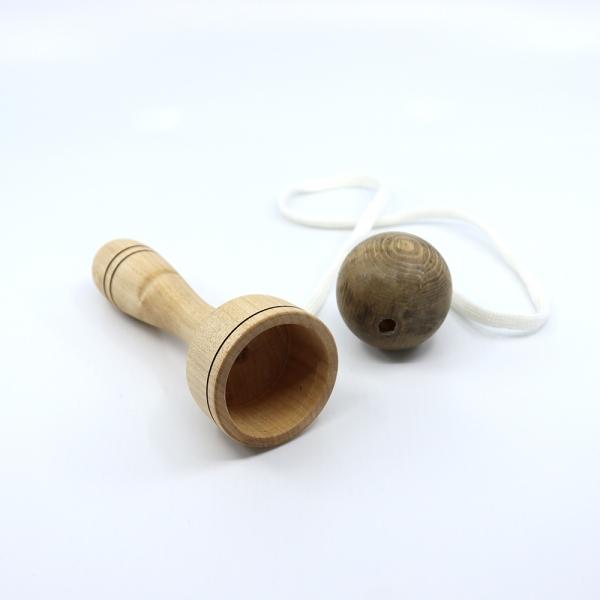 Bilboquet aus Holz - sächsische Handarbeit - Unikate