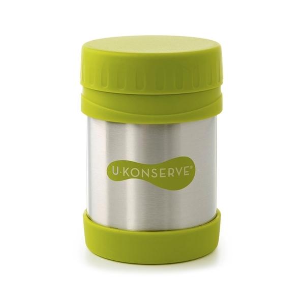 Edelstahl Lebensmittelaufbewahrungsdose 340ml Farbe Lime