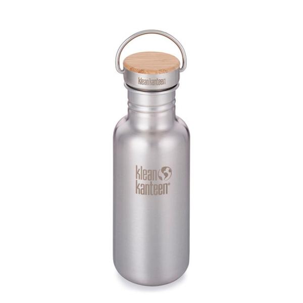 Reflect Trinkflasche mit Bambus Cap 532ml matt