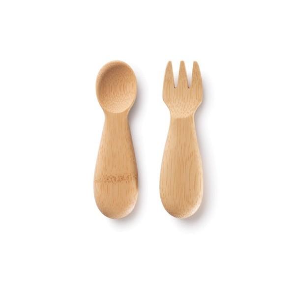Bambus Besteck für Babys und Kleinkinder (je 11cm)