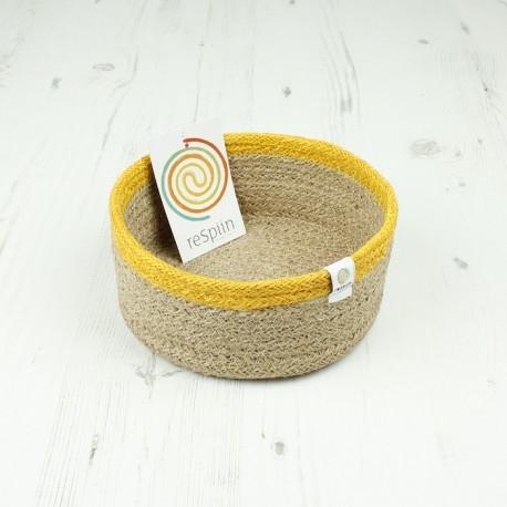 Veganer Korb aus Jute Ø 15cm