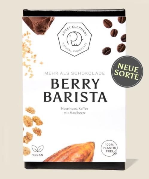Sweet Elephant - Vegane Schokolade - Berry Barista