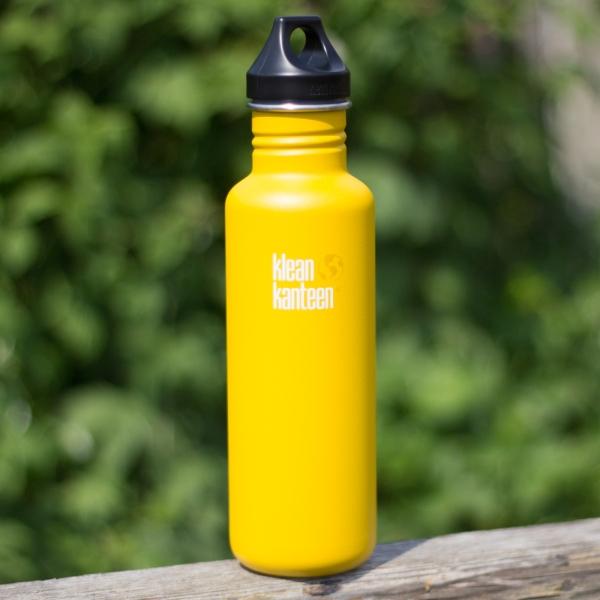 Edelstahl Trinkflasche Classic 800ml mit Loop Cap