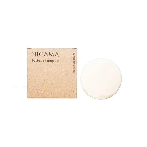 Festes Shampoo Natur Naturkosmetik 50 Gramm vegan