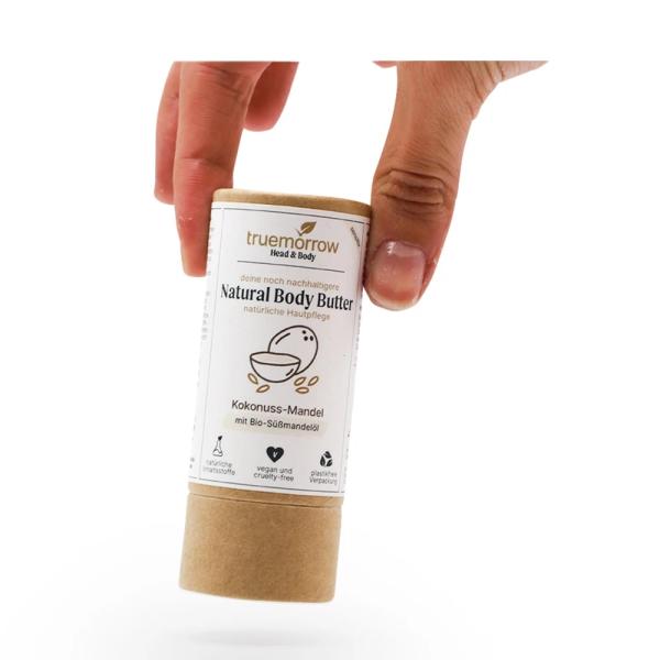 Natural Body Butter nachhaltig, vegan, Made in Germany - Kokusnuss-Mandel