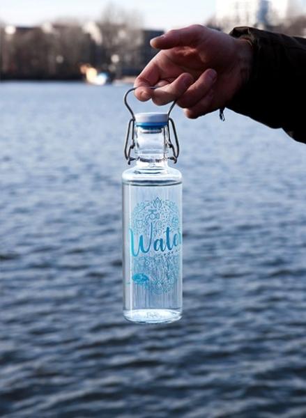 0,6L Soulbottle Trinkflasche - Viva con agua, viva con soul